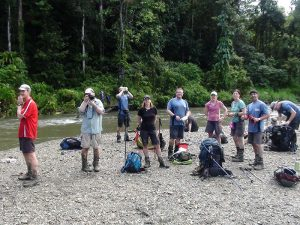 Getting ready for a Kokoda creek crossing
