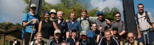 Trekking group