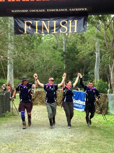 Team Pow Wow do the Kokoda Challenge 2013