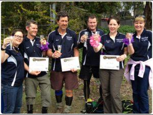Team Pow Wow do the Kokoda Challenge 2013