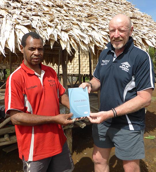 Giving back to Kokoda