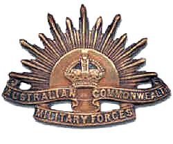 Australian Military Forces RisingSun