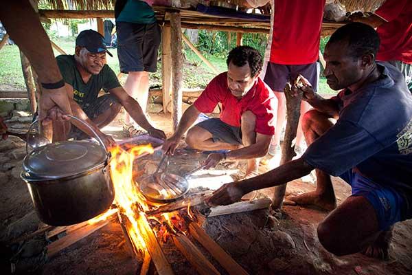 Fresh Food along the Kokoda Track